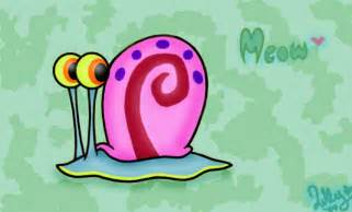 Gary the Snail Spongebob