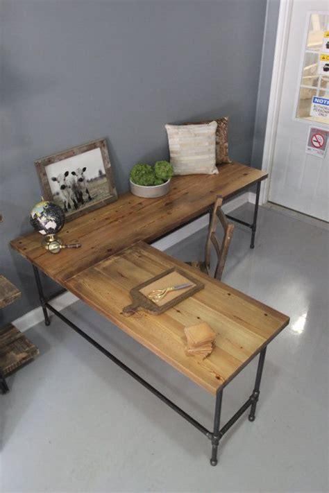 diy wood l 10 code memorialday l shaped desk