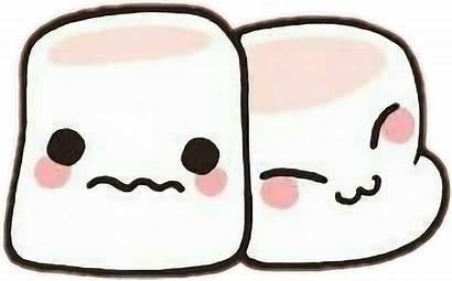 Marshmallow Kawaii Transparent Clipart Pink Hug Face
