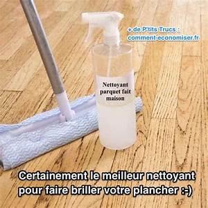 certainement le meilleur nettoyant pour faire briller With puce de parquet vinaigre blanc