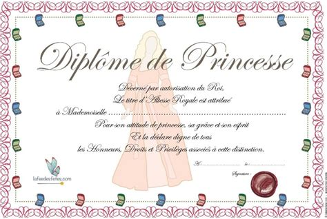 jeu de cuisine pour filles gratuit diplôme de princesse à imprimer