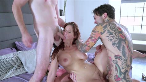 Hot Milf Redhead That Loves Cock Is Getting Several Dicks In Her Body Pornid Xxx