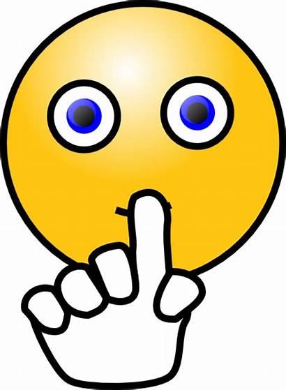 Cartoon Wait Emoticon Symbol Quit Sign Quiet
