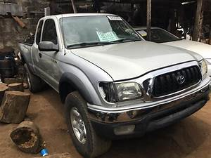 Foreign Used Toyota Tacoma 2004 Model Gray For Sale