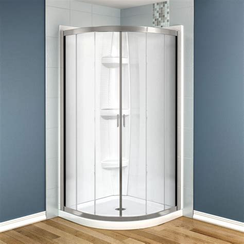 36 Shower Stall - maax intuition 36 in x 36 in x 73 in shower stall in