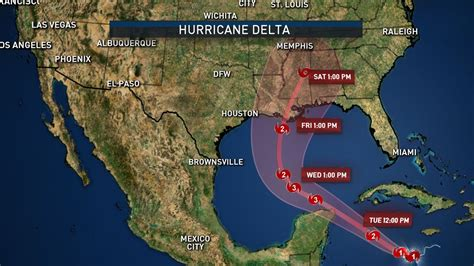 Delta Strengthening Rapidly; Now a Hurricane – NBC 5 ...