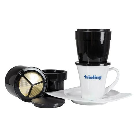 You can purchase other tasty beverages in pod form, like tea, hot cocoa, or even lemonade. Swissgold One Cup Coffee Maker -KF 300 - Espresso Planet ...