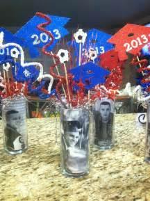 graduation centerpieces party favors ideas