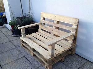 Mobilier Jardin Pas Cher : meuble jardin palette galerie et mobilier jardin palette ~ Melissatoandfro.com Idées de Décoration