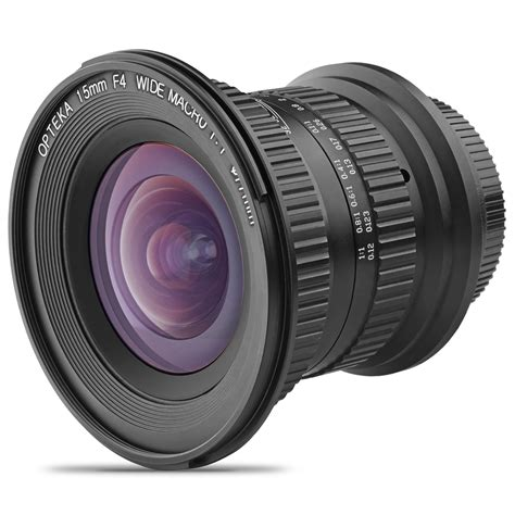wide angle digital opteka 15mm f 4 ld unc al wide angle lens for canon eos