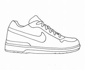 nike air jordan clipart brands pinterest nike air With shoe drawing template