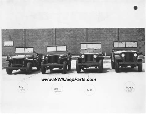 Original 14 Ton 4x4 Prototype Jeep Photos Ford Gp