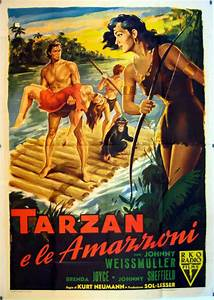 Tarzan and the Amazons (1945) | Heroes and Heroines ...