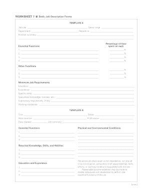 basic description template description template forms fillable printable sles for pdf word pdffiller