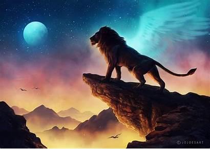 Lion King Wallpapers Digital Deviantart Artwork Animals