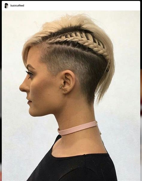 undercut hairstyles side cut shaved sides side braid