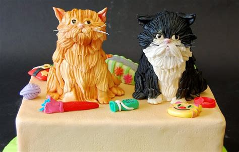 Cat happy birthday cake topper decor cat birthday theme picks for pet party decorations supplies. 50 Best Cat Birthday Cakes Ideas And Designs - iBirthdayCake