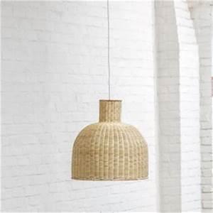 Abat Jour Rotin : luminaire et abat jour en rotin vintage kok maison ~ Teatrodelosmanantiales.com Idées de Décoration