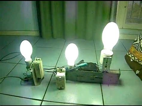 les 224 vapeur de mercure 80w 125w 250w eclairage