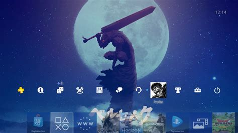 Customize and personalise your desktop, mobile phone and tablet. Custom PS4 backgrounds...finally! : Berserk