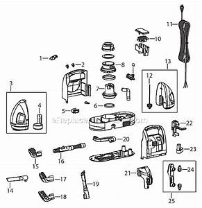 Bissell 1425 Parts List And Diagram   Ereplacementparts