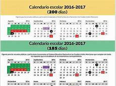 Conoce calendario del ciclo escolar 20162017 Puente Libre