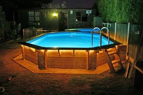 pool deck lighting ideas above ground swimming pool ideas above ground swimming pools with decks for the home