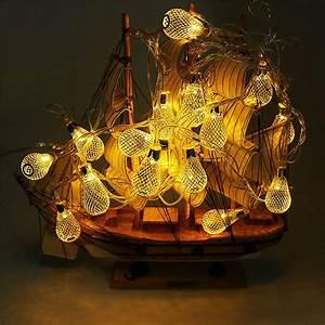 16, Leds, 3, Meter, Ball, Metal, Design, Shape, Led, String, Lights, Indoor, Outdoor, Decorative, Fairy, Lights