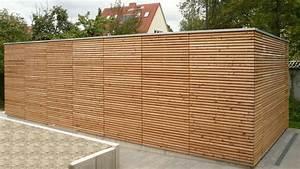 Garage Aus Holz : garage mit fassade aus holz fink garage ~ Frokenaadalensverden.com Haus und Dekorationen