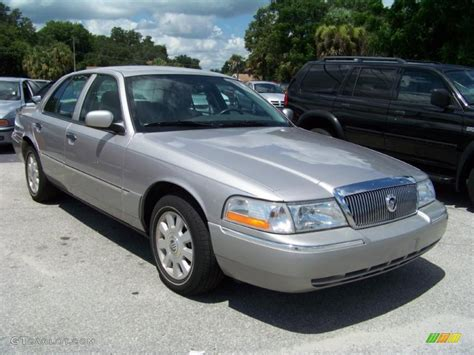 gold and silver ls 2005 silver birch metallic mercury grand marquis ls