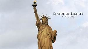 What The Statue Of Liberty Looked Like In 1886