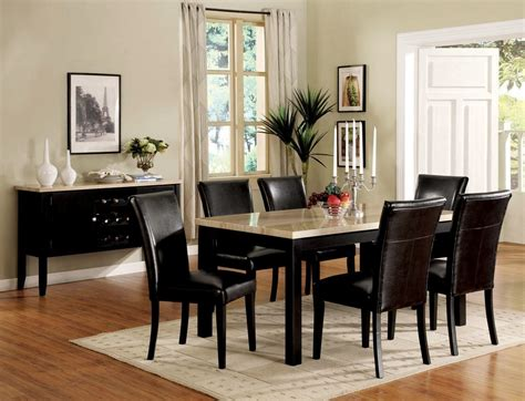 white faux marble top dining portland white faux marble top dining table set lowest