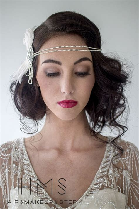 20s Hairstyles by Gatsby Wedding Lifestyle Gatsby Hair 1920s Hair 20s Hair