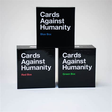 The political magazine that wants to change the world as well as report on it. Cards Against Humanity Expansion Packs   Menkind