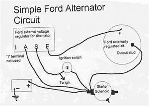 1992 Ford Mustang Alternator Wiring Diagram