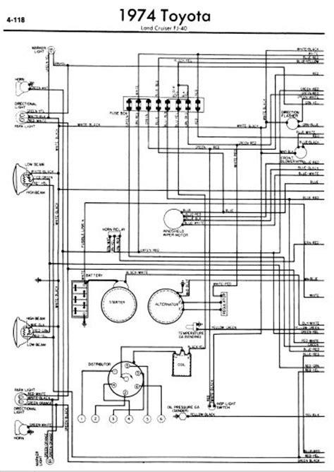 wiring diagram info toyota land cruiser fj  wiring diagrams