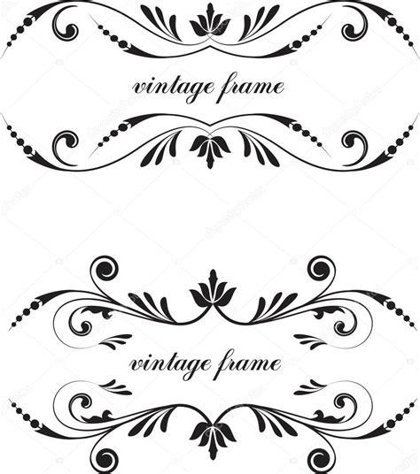 vintage text decor stock vector  galinashpak