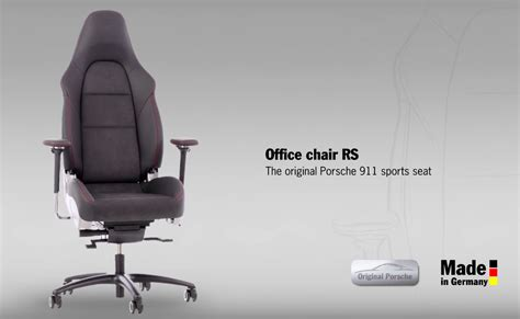 porsche 911 office chair rs sports seat