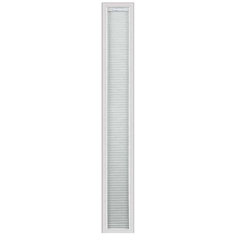sidelight window treatments home depot odl light touch enclosed blinds 07x64 sidelight with hp