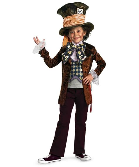 mad hatter kids disney costume boys  costumes