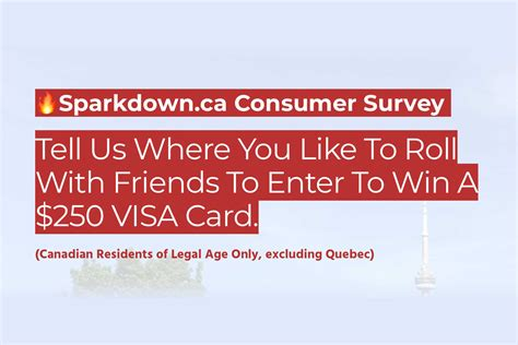 We keep growing our selection of digital and plastic gift cards so that we can provide you with a wide range of canadian cards to. Win a $250 VISA Gift Card from Sparkdown.ca - Contest Canada