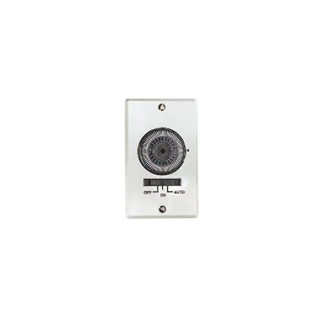exhaust fan timer switch air king akt724h white automatic timer dial switch for