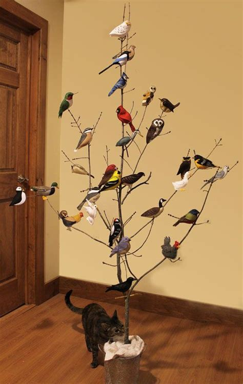 free felt patterns a collection of felt bird ornaments these are quite life like in colors and