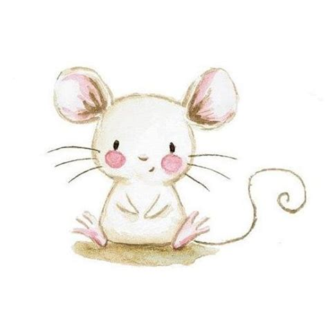 cute illustrations mouse animals cute baby drawing