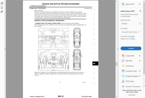 factory workshop service repair manual nissan pulsar