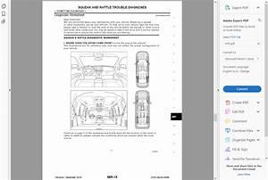 Factory Workshop Service Repair Manual For Nissan Pulsar Sentra 2012