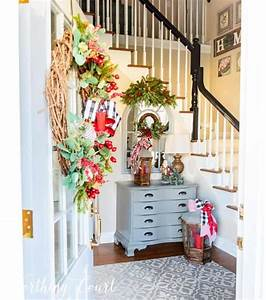 Warm, And, Welcoming, Christmas, Entryway
