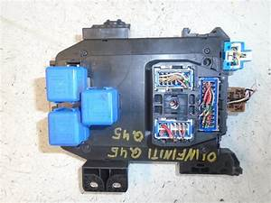 Fuse Box For Infiniti G20