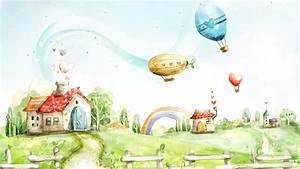 Fantasy World Cartoon Wallpaper