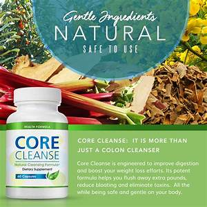 Colon Cleansing Supplement For A Flat Belly